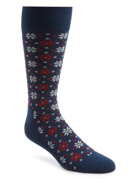 Holiday Fair Isle Socks by Nordstrom Men's Shop