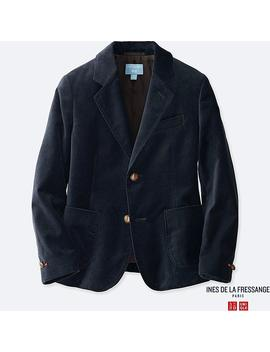 Kids Ines Velvet Jacket by Uniqlo