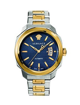 Versace Men's 'dylos' Automatic Stainless Steel Casual Watch, Color:Two Tone (Model: Vag030016) by Versace