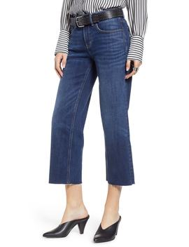 Shelter Crop Wide Leg Jeans by Treasure & Bond