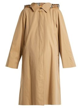 Richmond Cotton Gabardine Trench Coat by Burberry