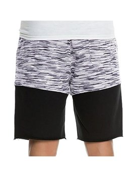 I Zhh Men's Causal Loose Fit Patchwork Sports Beach Shorts Trunks Board Pants by I Zhh
