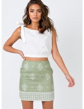 Minkpink Sweet Sahara Skirt by Minkpink