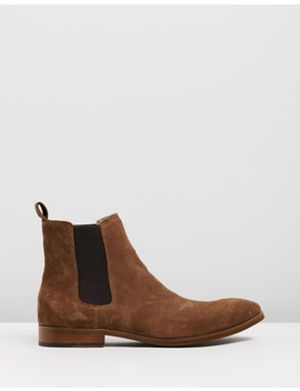 Morgan Suede Gusset Boots by Double Oak Mills
