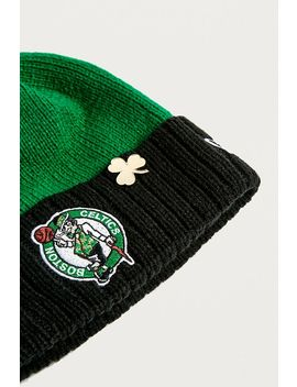 New Era Boston Celtics Nba Draft Bobble Beanie by New Era