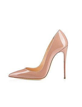 Genshuo Women Fashion Pointed Toe High Heel Pumps Sexy Slip On Stiletto Dress Shoes by Genshuo
