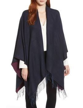 Reversible Ruana by Nordstrom