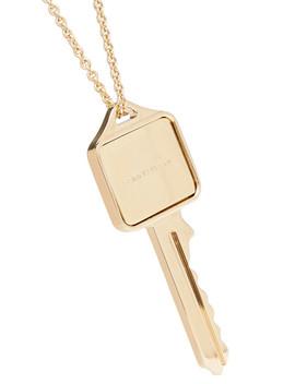 Gold Tone Necklace by Saint Laurent