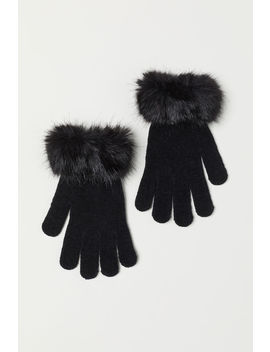 Handschuhe Mit Faux Fur by H&M