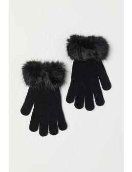 Handschuhe Mit Faux Fur by H&M