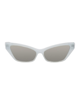 White Le Matin Sunglasses by Alain Mikli Paris