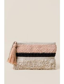 Sheila Tassel Clutch by Francesca's