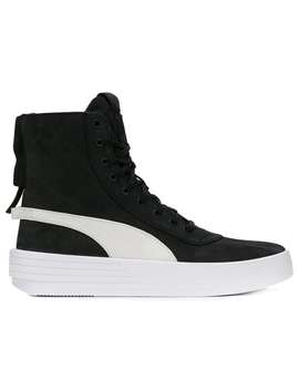 Xo Parallel Hi Top Sneakers by Puma