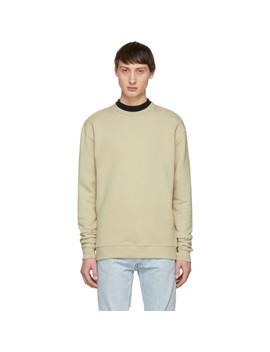 Beige Crewneck Sweatshirt by John Elliott