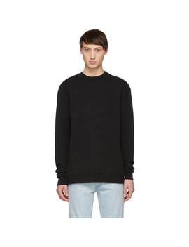 Black Crewneck Sweatshirt by John Elliott