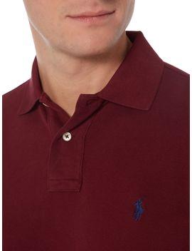 Custom Fit Polo Shirt by Polo Ralph Lauren