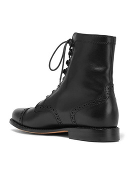 Mary Vetsera Leather Ankle Boots by Ludwig Reiter
