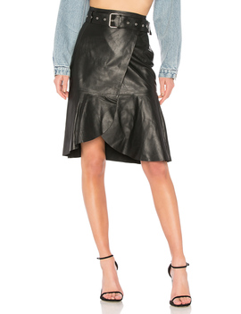 Leather Skirt by Palmer Girls X Miss Sixty