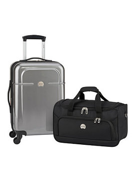 Fashion Air Quest Carry On & Duffel Bag Luggage Set by Delsey