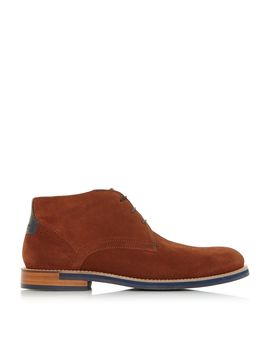 Daiinos Suede Chukka Boots by Ted Baker