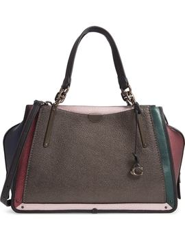 Dreamer Colorblock Metallic Leather Bag by Coach