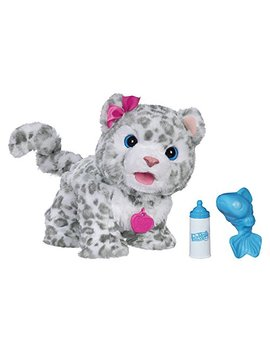 Furreal Flurry, My Baby Snow Leopard Interactive Plush Toy, Ages 4 & Up by Fur Real