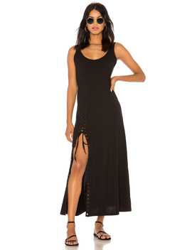 Lace Up Tank Dress by Kendall + Kylie