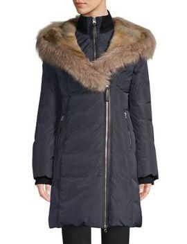 Trish X Fur Trim Down Parka by Mackage