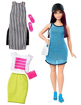 Barbie Fashionistas Doll & Fashions So Sporty, Curvy Dark Haired by Barbie