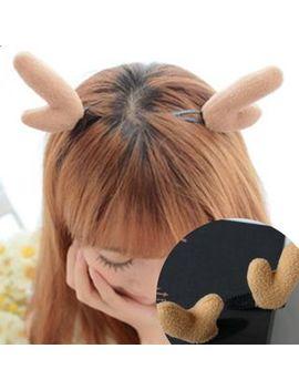 Lido   Christmas Deer Horn Headband by Lido
