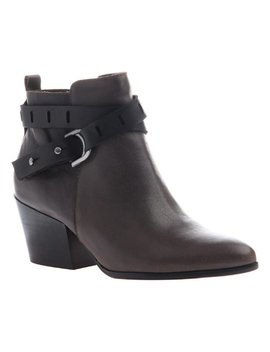 New Gray Francis Leather Bootie   Women by Zulily