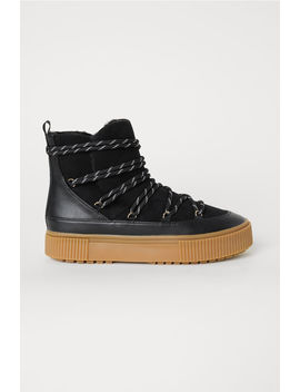 Bottines Doublées by H&M