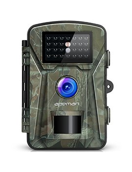 Apeman 12 Mp 1080 P Trail Wildlife Camera Trap With Infrared Night Vision   Camouflage by Apeman