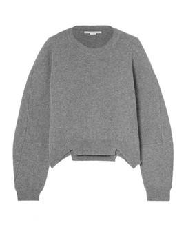 Oversized Wool And Alpaca Blend Sweater by Stella Mc Cartney