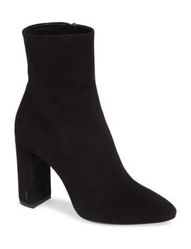 Lou Almond Toe Boot by Saint Laurent