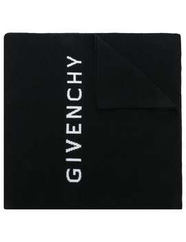 Oversized Wollschal Mit Logo by Givenchy