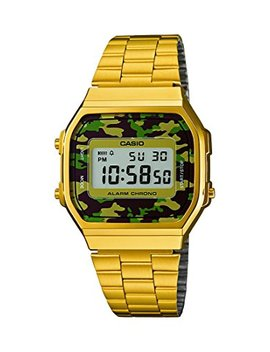 Casio Collection Unisex Adults Watch A168 Wegc by Casio