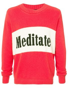 Meditate Sweater by The Elder Statesman
