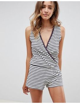 Tommy Hilfiger Towelling Playsuit by Tommy Hilfiger