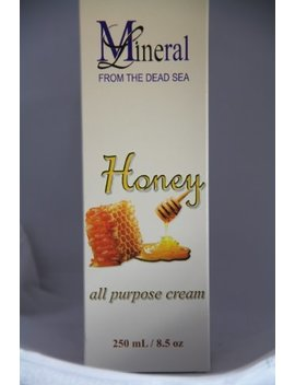Mineral From The Dead Sea Honey All Purpose Cream 8.5 Fl Oz by Mineral Beauty From The Dead Sea