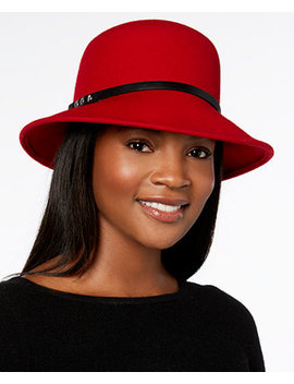 Felt Trench Cloche, Created For Macy's by Nine West