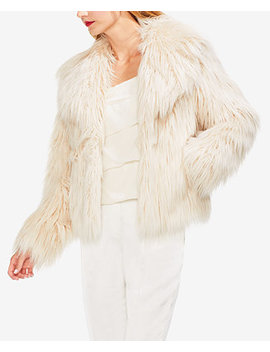 Long Faux Fur Jacket by Vince Camuto