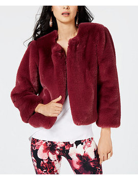 Faux Fur Jacket, Created For Macy's by Thalia Sodi