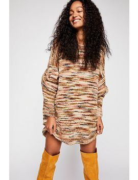 Loop Boucle Tunic Pullover Jumper by Free People