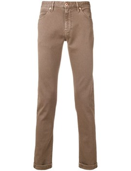 Skinny Corduroy Trousers by Pt05