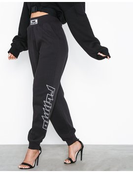 Fanny Lyckman Embroidered Joggers by Missguided