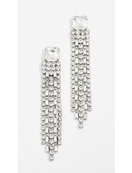 Glitzville Chain Fringe Earrings by Kate Spade New York