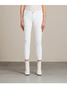 Mast Ankle Destroy Skinny Jeans by Allsaints