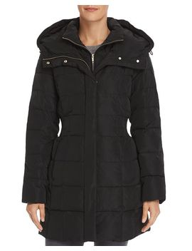 Zip Front Puffer Coat by Cole Haan