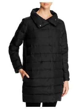 Stand Collar Puffer Coat by Eileen Fisher